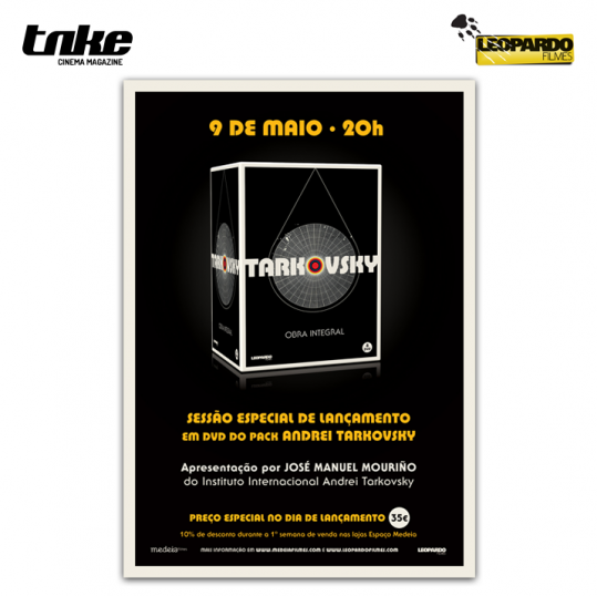Lançamento box Andrei Tarkovsky