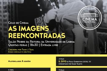 As Imagens Reencontradas - Ciclo de Cinema