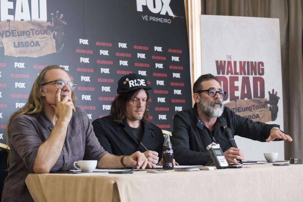 O bom, a lenda e o vilão | À conversa com as estrelas de The Walking Dead