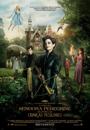 A Casa da Senhora Peregrine para Crianças Peculiares